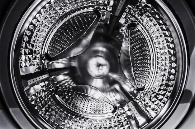 Стиральная машина со стальным барабаном Premium Фотографии