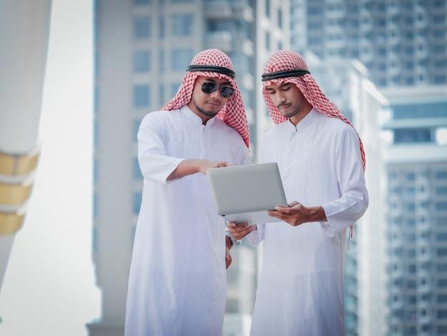 Мусульманин бизнес Premium Фотографии