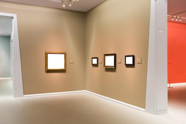 Галерея искусств Premium Фотографии