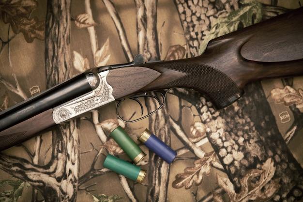 散弾銃 Premium写真
