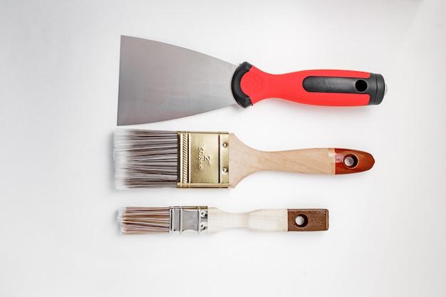 Строительные инструменты Premium Фотографии