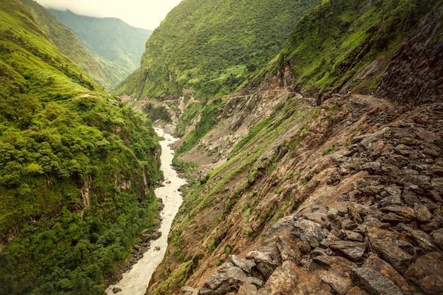 美しいアジアの風景 Premium写真