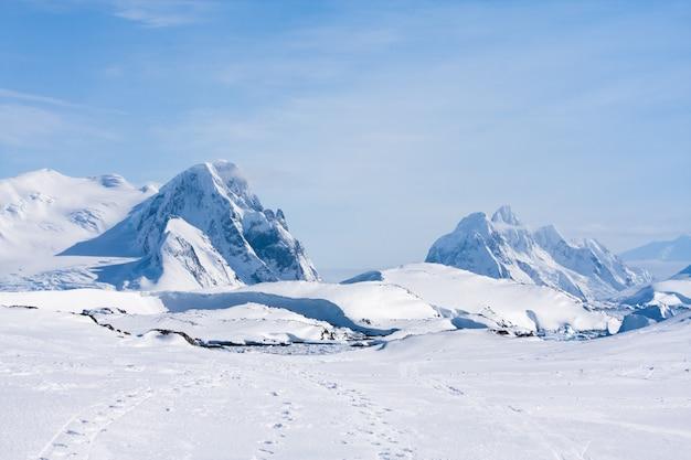 Антарктический хребет Premium Фотографии