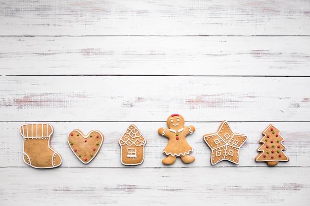 クリスマスクッキー 無料写真