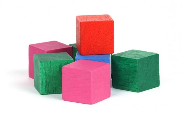 木製ブロック 無料写真