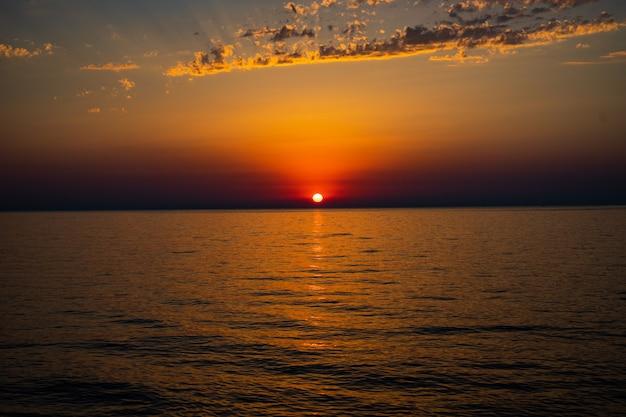 黒海のアジャリアの海岸線 Premium写真