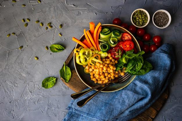 有機食品のコンセプト Premium写真