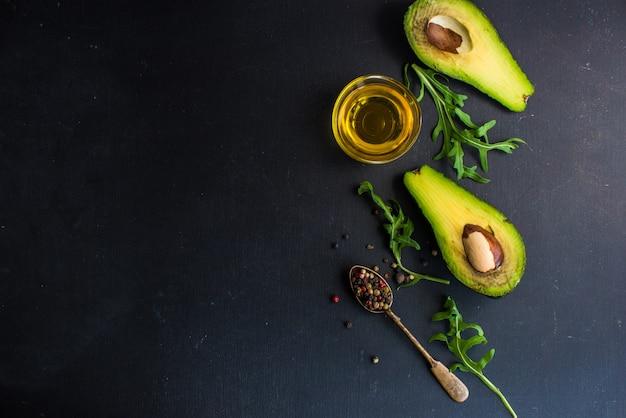 健康的な有機食品 Premium写真