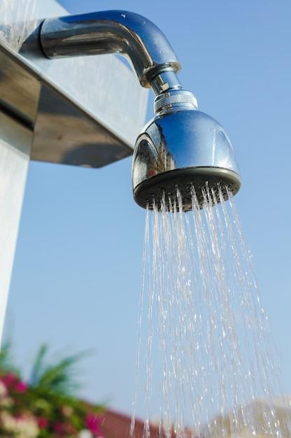 プールシャワー Premium写真