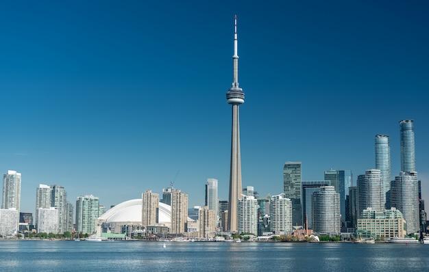 トロントの街並み、オンタリオ州、カナダ Premium写真