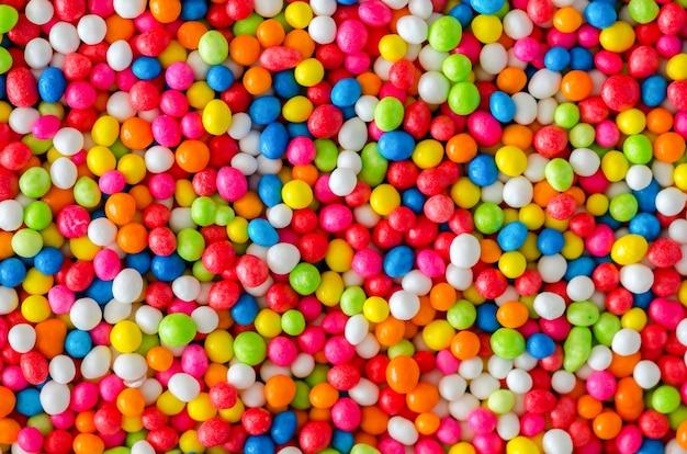 Красочный орошение сахара, приготовленное для выпечки хлебобулочных изделий Бесплатные Фотографии