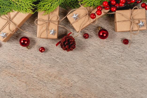 創造的なクリスマス。 Premium写真