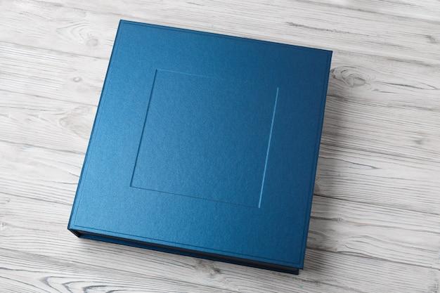 フォトブック用のスタイリッシュな四角い箱 Premium写真