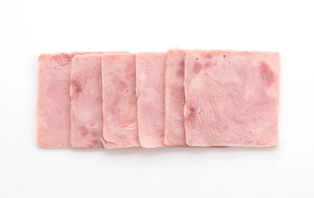 豚肉ハム 無料写真