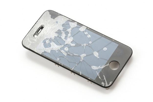 壊れたモバイル画面 無料写真