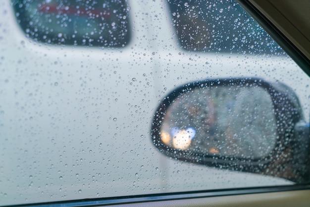 車のミラー 無料写真