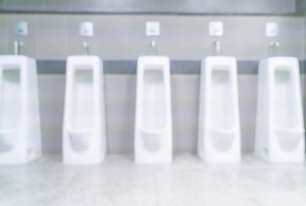 ぼんやりとした男性のトイレ 無料写真