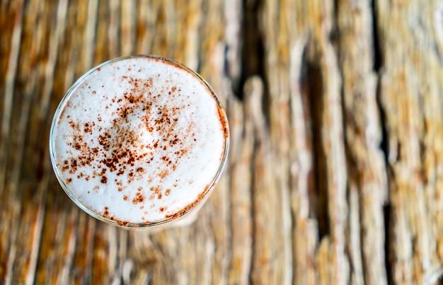 ホットカプチーノコーヒー Premium写真