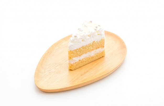 バニラケーキ Premium写真