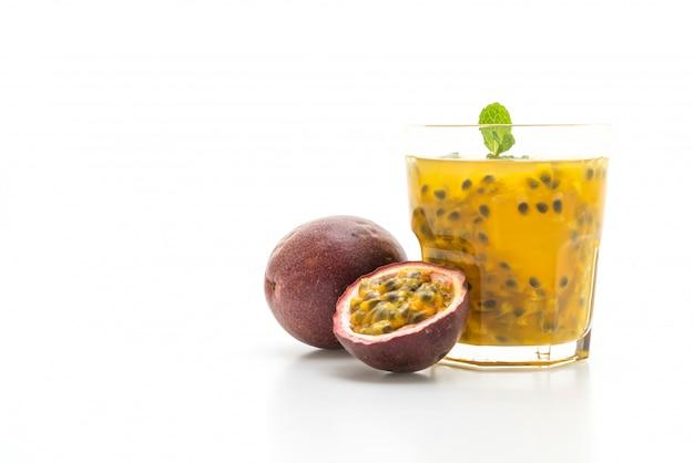 Свежий и замороженный сок маракуйи Premium Фотографии