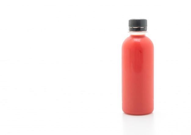 果物と野菜のジュースボトル(健康ドリンク) Premium写真