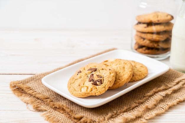チョコレートチップクッキー Premium写真