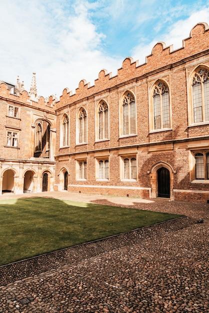 ケンブリッジの美しい建築セントジョンズカレッジ Premium写真