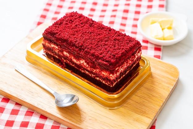 美味しいレッドベルベットケーキ Premium写真