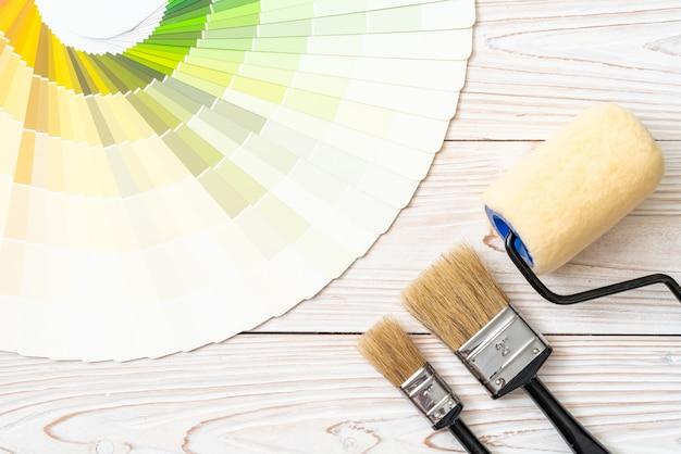 Образец цветового каталога Premium Фотографии