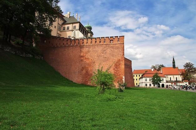 ポーランド、クラクフの城 Premium写真