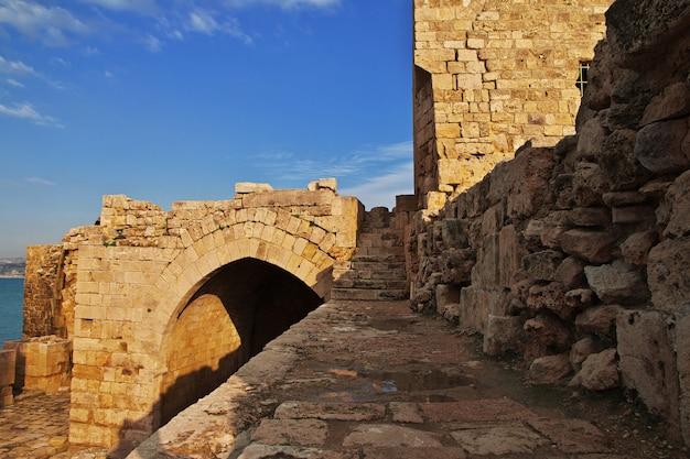 シドンの要塞(サイダ)、レバノン Premium写真