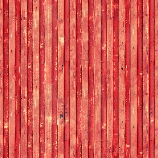 赤い貨物船コンテナーテクスチャ背景 Premium写真