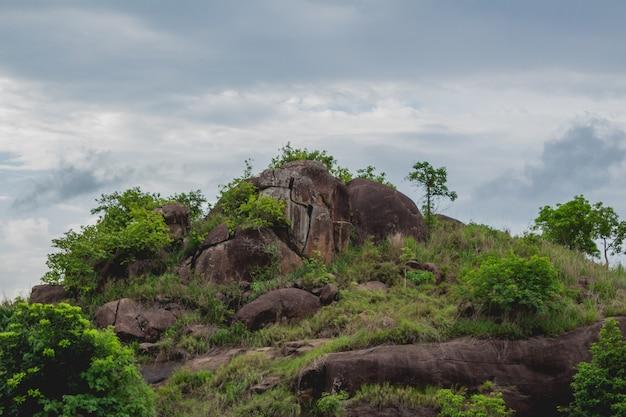 丘の頂上 無料写真