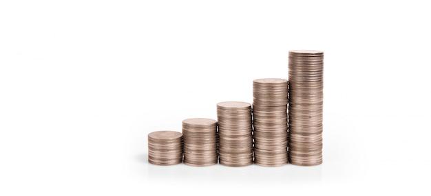 株式市場外国為替取引グラフローソク足チャート金融投資の概念に適したグラフ Premium写真