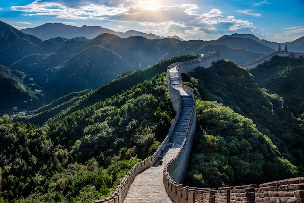万里の長城 無料写真