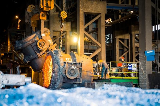 Внутренний вид сталелитейного завода Бесплатные Фотографии