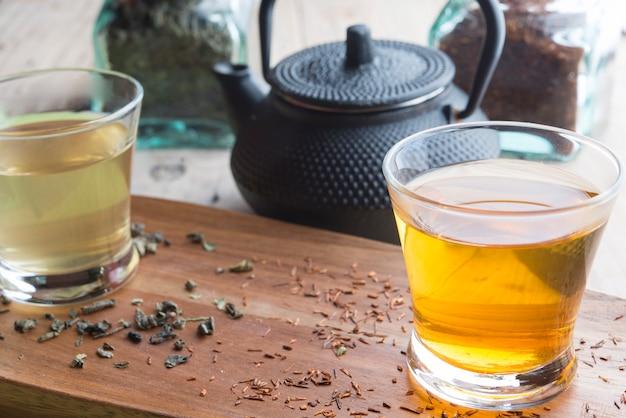 ルイボスと緑茶 Premium写真