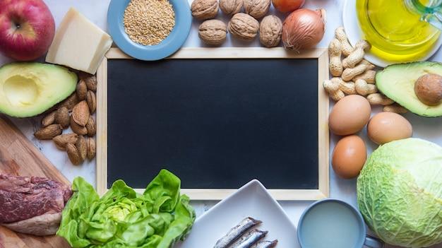 Кетогенная диета Premium Фотографии