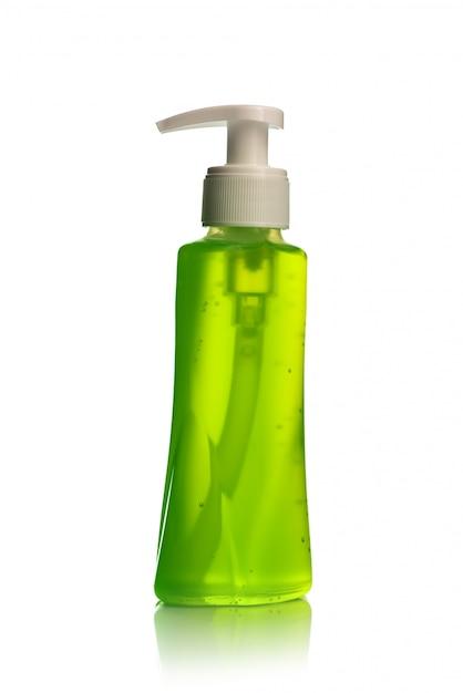 Бутылка жидкого мыла или крема или диспенсеры для мытья лица или жидкого пробки Premium Фотографии