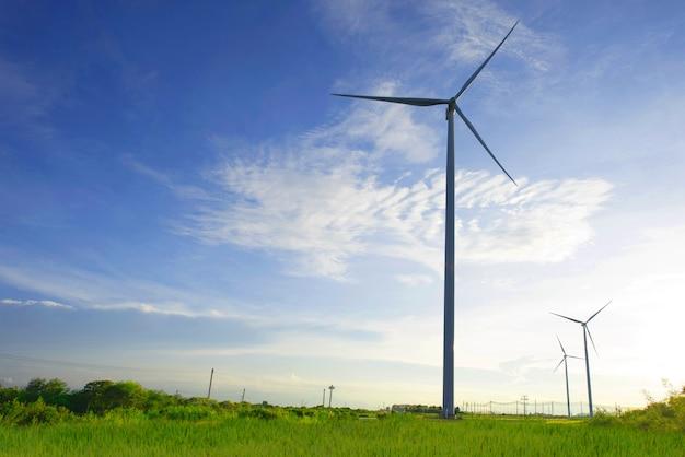 分野の風力タービン Premium写真