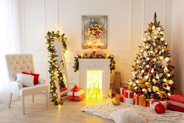 クリスマスルームのインテリアデザイン Premium写真