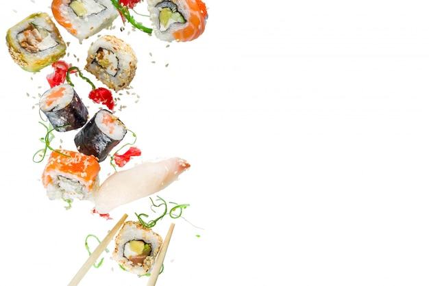 寿司とのシームレスなパターン Premium写真