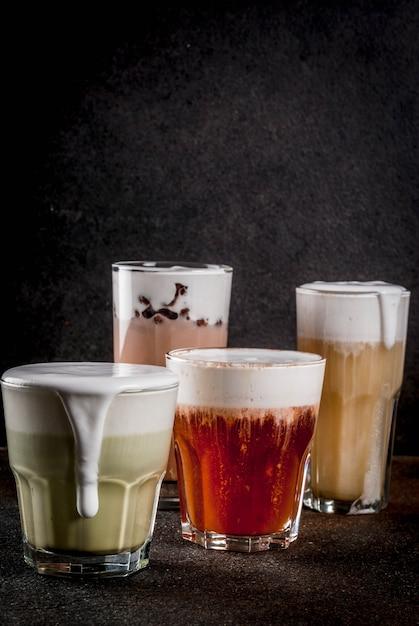 Пушистый сырный чай Premium Фотографии