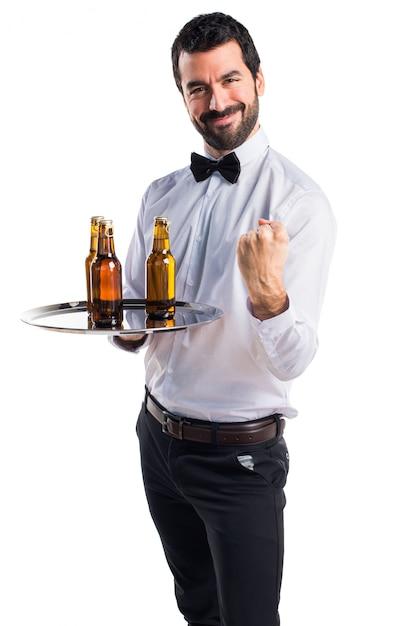 поставили картинка официанты мужчины размыть