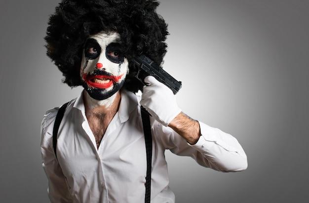 テクスチャの背景に殺人者の爆発的な自殺 Premium写真