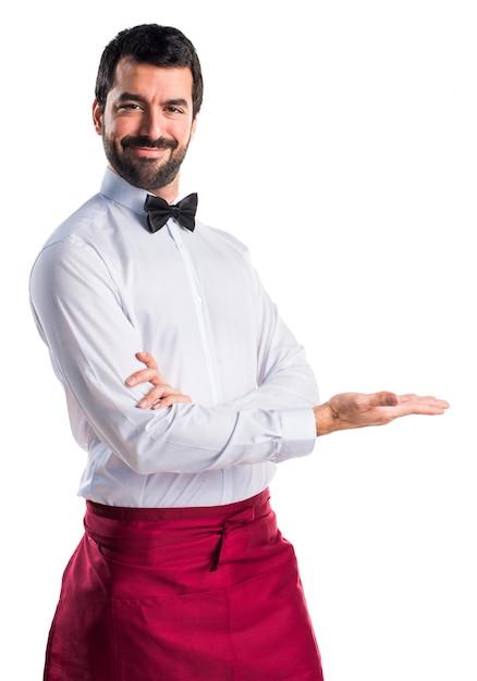 プレゼンターのひげ弓大人のユニフォーム 無料写真