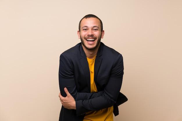 コロンビア人の笑い Premium写真