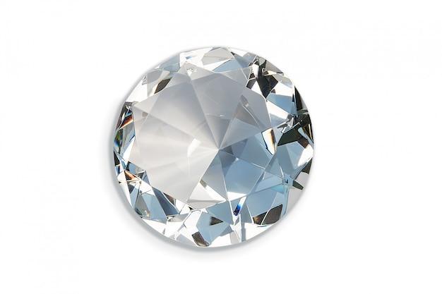 Большой декоративный бриллиант Premium Фотографии