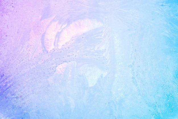 Красочный лед текстуры фона. радужные голографические яркие краски зимы или льда для летних напитков Premium Фотографии