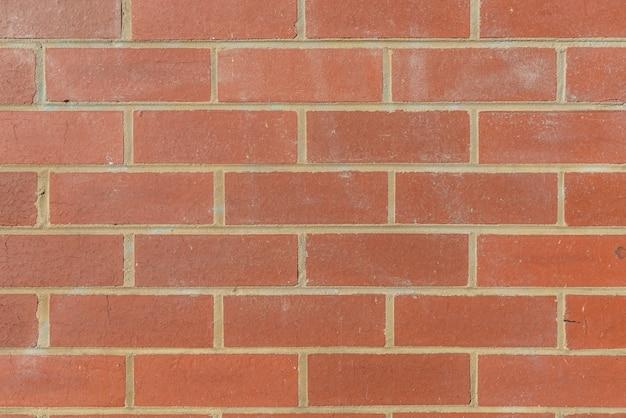 赤レンガの壁の背景 無料写真